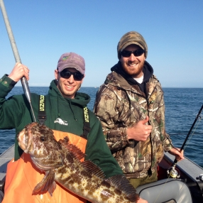 dylan and mitch lingcod